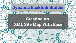 Dynamic Backlinks Creator - Easy XML Sitemaps