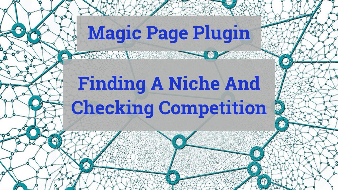 magic page plugin finding a niche