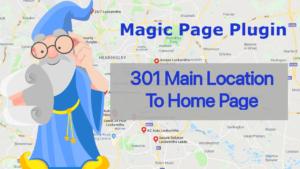 Magic Page Plugin 301 Redirect To Main Location