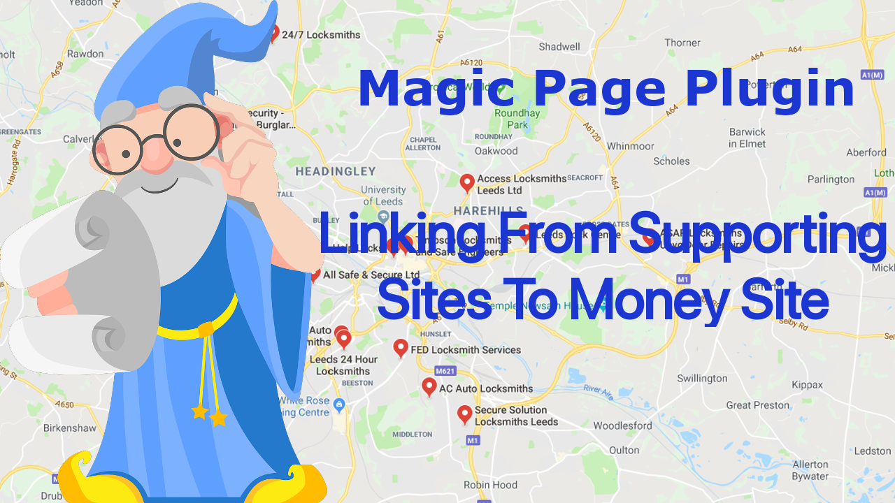 Magic Page Plugin Linking From Supporting Sites To Money Site