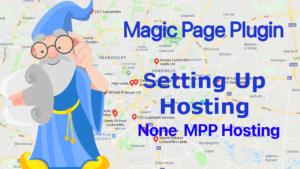 Magic Page Plugin training setting up hosting