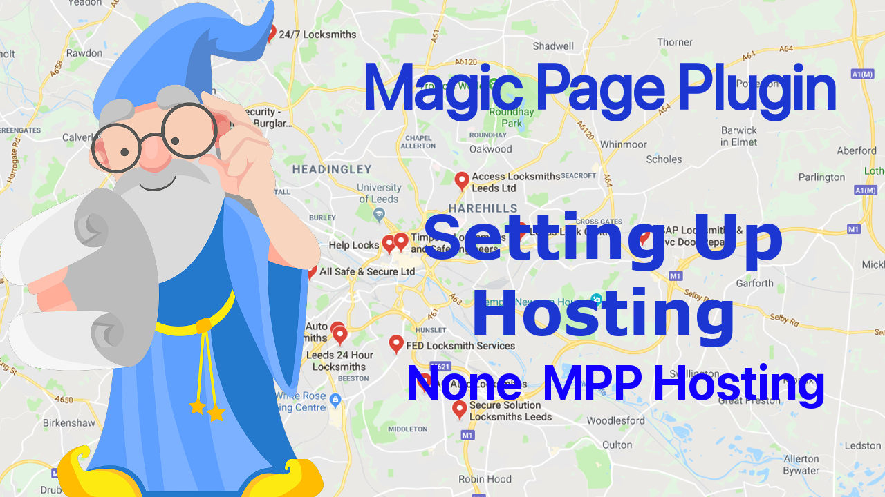 Magic Page Plugin training setting up hosting