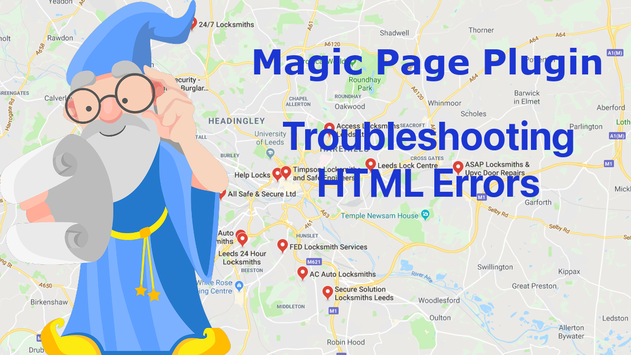 MPP Troubleshooting HTML errors