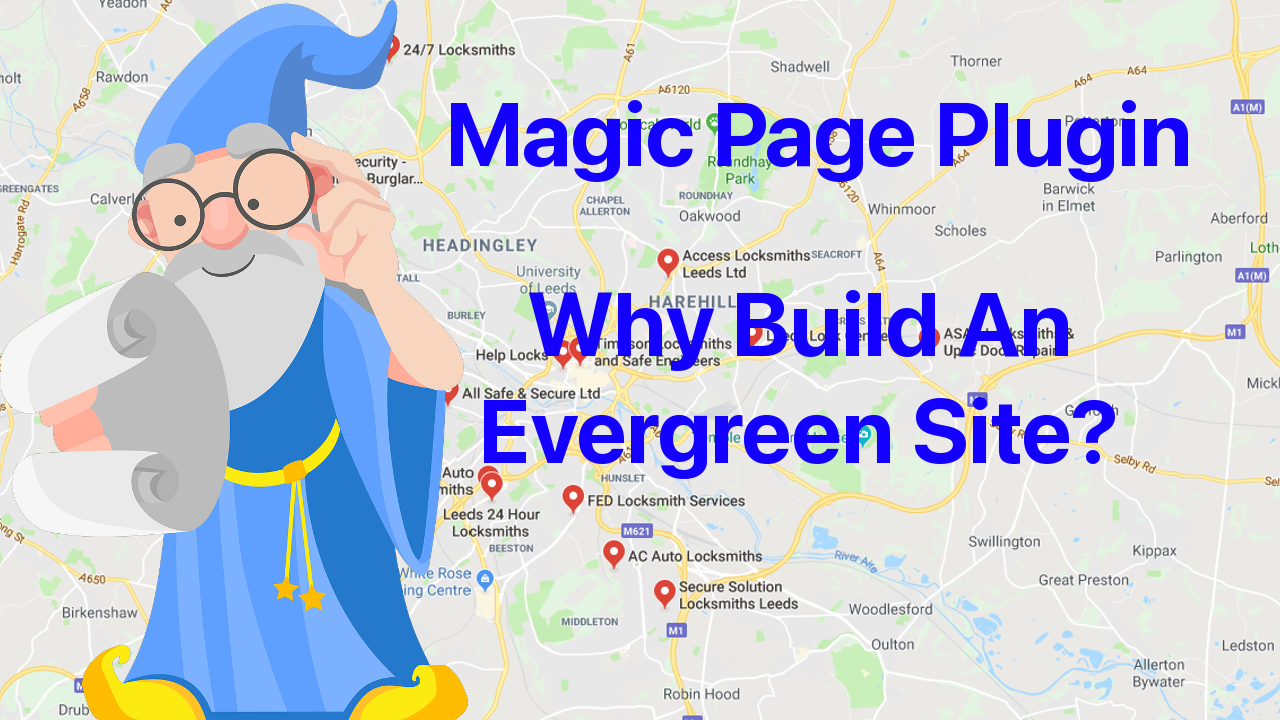 magic page plugin why build an evergreen site